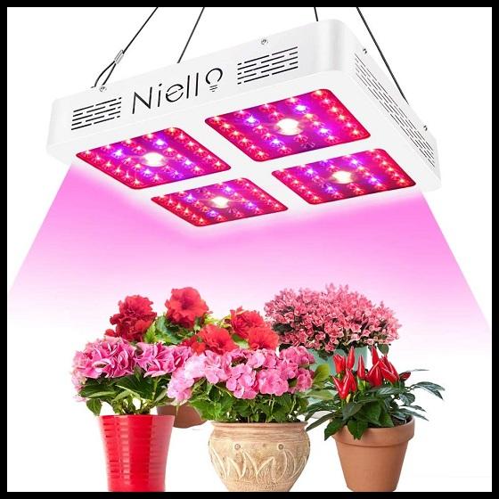 Lampara led de cultivo interior crecimiento y floración www.abonosfertilizantesyplantas.com