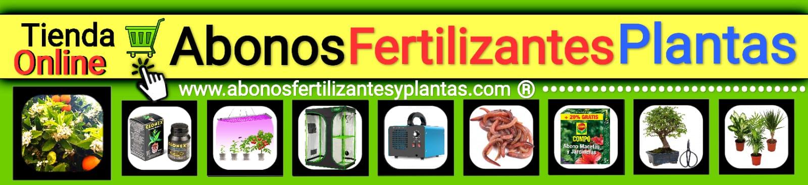 Abonos Fertilizantes y Plantas